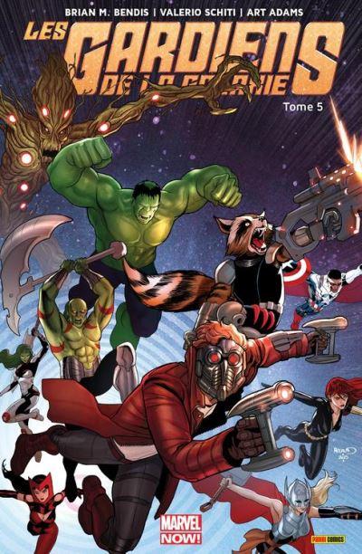 Les Gardiens de la Galaxie (2013) T05 - Les gardiens rencontrent les avengers - 9782809466836 - 9,99 €