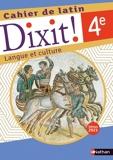 Dixit - Cahier d'activités - 4e - 2021 - Edition 2021