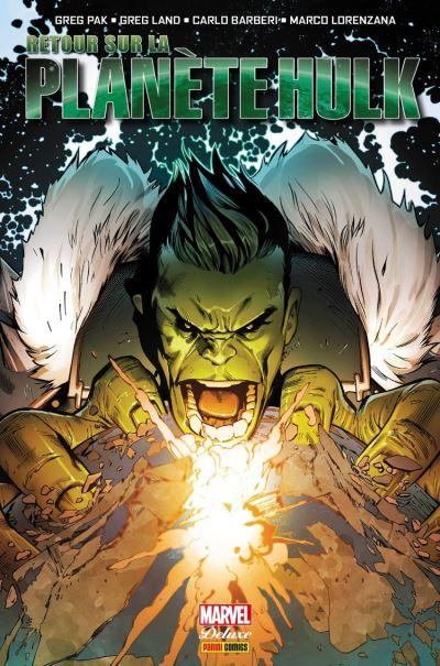 Retour sur la Planète Hulk - 9782809484205 - 19,99 €