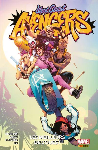 West Coast Avengers : Les meilleurs de l'ouest - 9782809484144 - 16,99 €