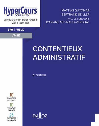 Contentieux administratif - 6e ed.