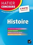 Hatier Concours CRPE 2017 - Epreuve orale d'admission - Histoire - 9782218983603 - 15,99 €