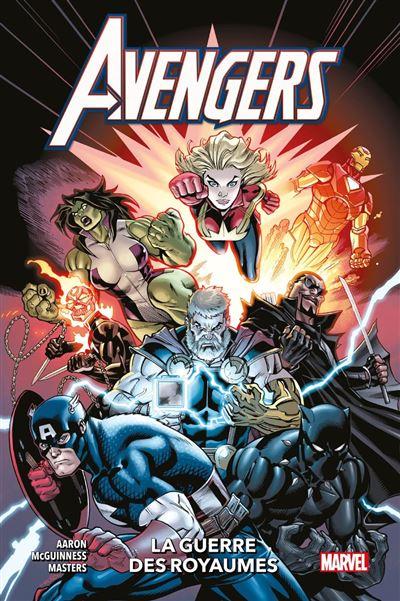 Avengers (2018) T04 - La guerre des Royaumes - 9791039100137 - 11,99 €
