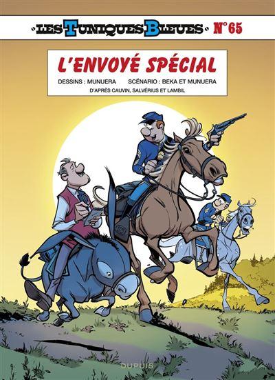 Les Tuniques Bleues - tome 65 - L'envoyé spécial - 9791034757961 - 5,99 €