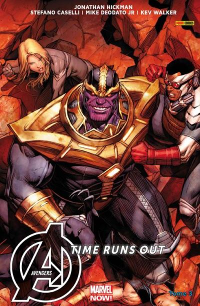 Avengers Time Runs Out (2013) T03 - Beyonders - 9782809464580 - 9,99 €