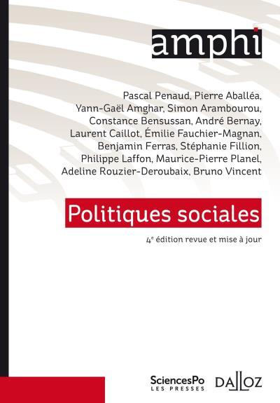 Politiques Sociales - 5e ed.