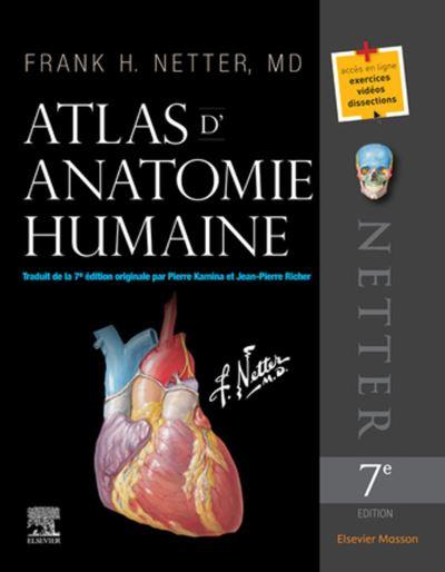 Atlas d'anatomie humaine - 9782294757129 - 77,00 €
