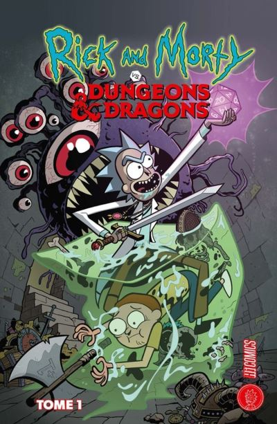 Les univers de Rick & Morty : Rick & Morty VS. Dungeons & Dragons - Rick & Morty VS. Dungeons & Dragons, T1 - 9782378870461 - 9,99 €