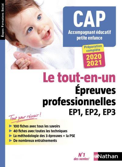 CAP Accompagnant Éducatif Petite enfance Tout-en-un - Épreuves professionnelles - 2019 - Format : ePub 3 - 9782098127654 - 15,99 €