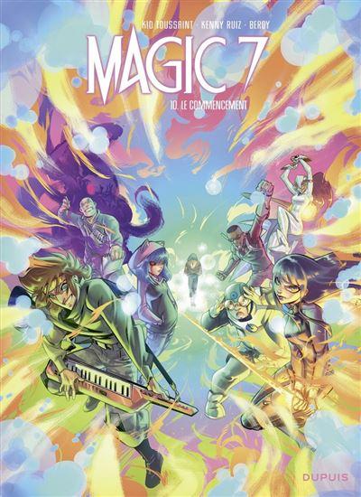 Magic 7 - Tome 10 - Le commencement - 9791034761388 - 5,99 €
