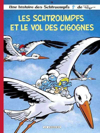 Les Schtroumpfs - Tome 38 - Les Schtroumpfs et le vol des cigognes - 9782803679942 - 5,99 €