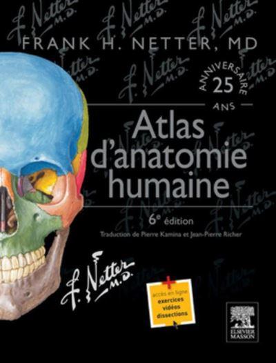 Atlas d'anatomie humaine - 9782294741715 - 69,99 €