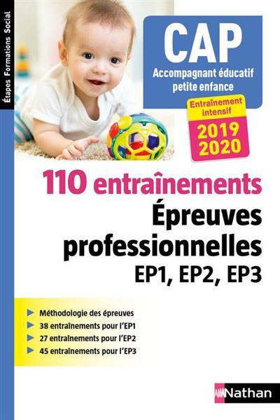 110 entraînements - Epreuve professionnelles EP1, EP2, EP3 - CAP Accompagnant éducatif petite enfance - 2018 - Format : ePub 3 - 9782098127135 - 11,99 €