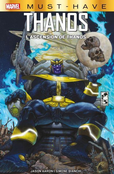 Marvel Must-Have : Thanos - L'ascension de Thanos - 9782809493436 - 9,99 €