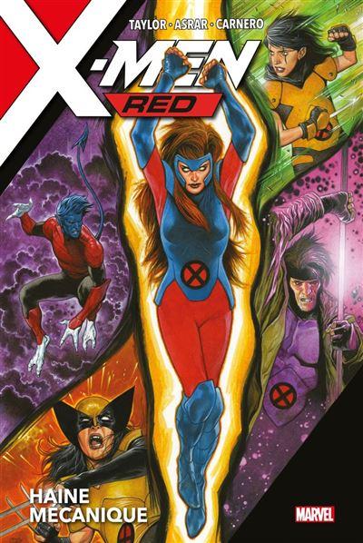 X-Men Red : Haine mécanique - 9782809499568 - 21,99 €