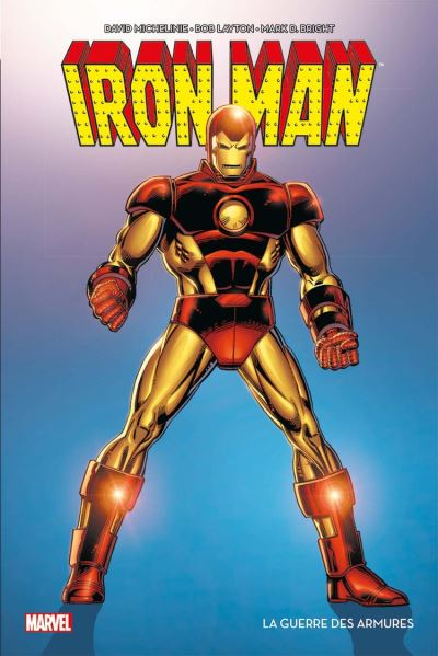 Iron Man - La guerre des armures - 9782809483277 - 15,99 €