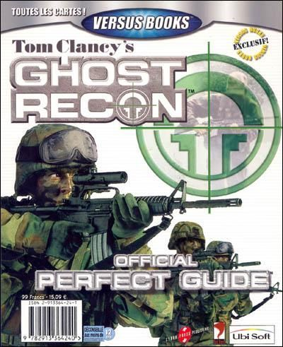 Guide officiel Tom Clancy's Ghost Recon