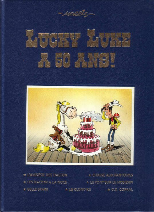 Lucky Luke a 50ans ! Album anniversaire, 7 histoires
