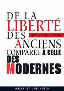 De la liberté des anciens comparée à celle des modernes - 9782755504194 - 2,49 €